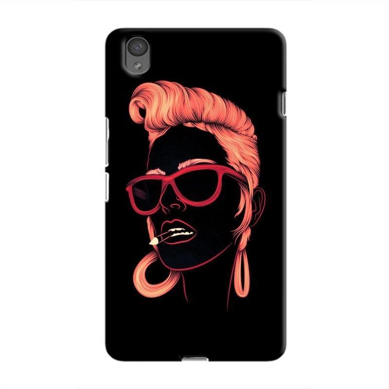 SketchyGirl Hard Case For OnePlus  X