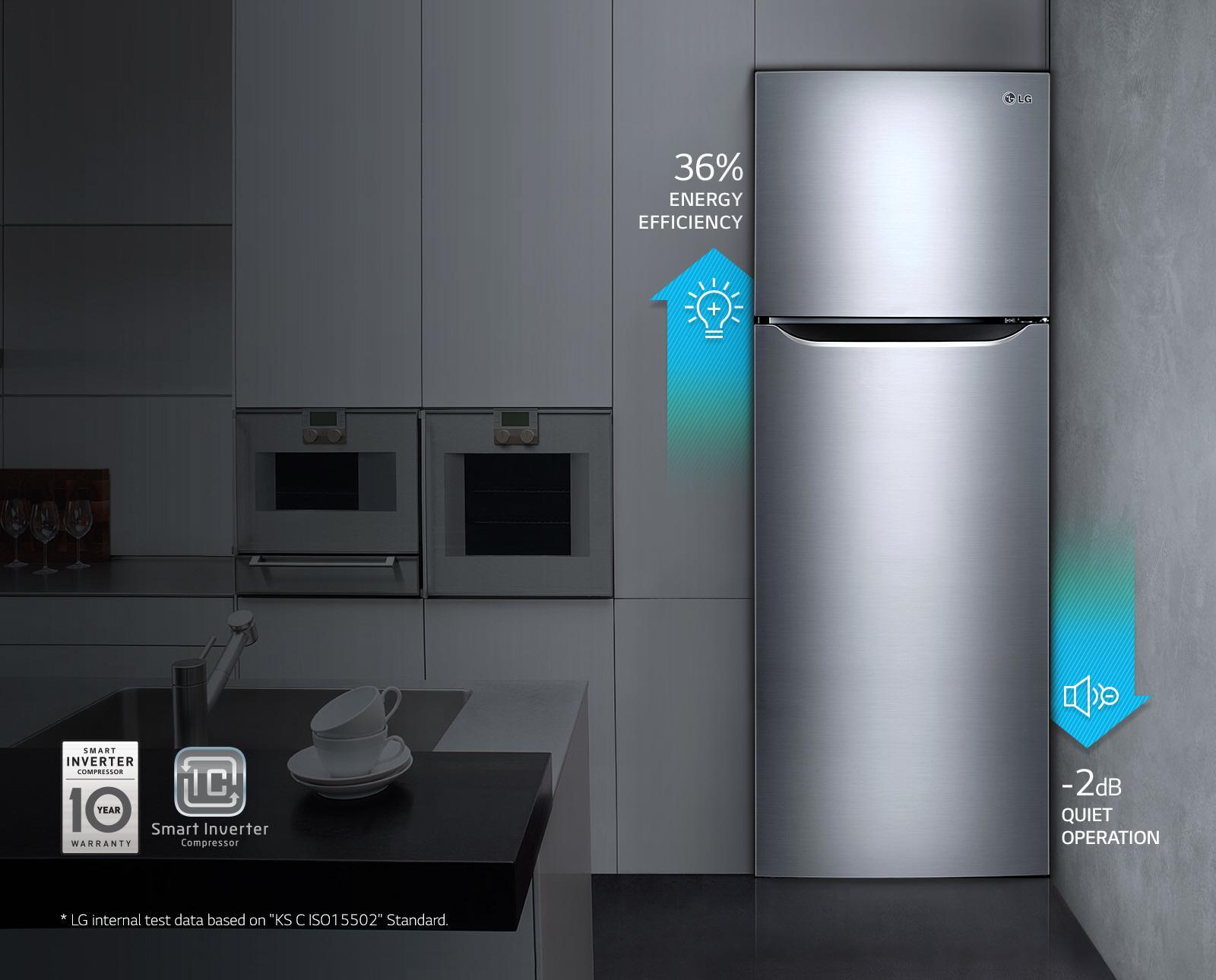 LG Double Door Refrigerator Inverter - GN-B 272 SLTL: Buy Sell ...
