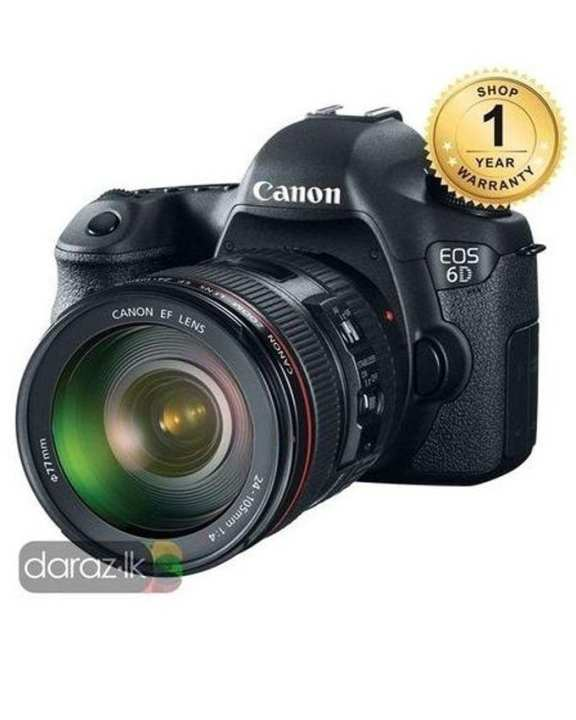 Eos 6D Kit With 24-105mm Lens