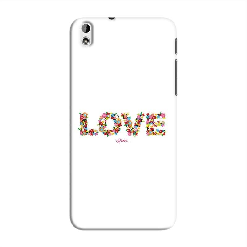 FlowerLove Hard Case For HTC Desire 816