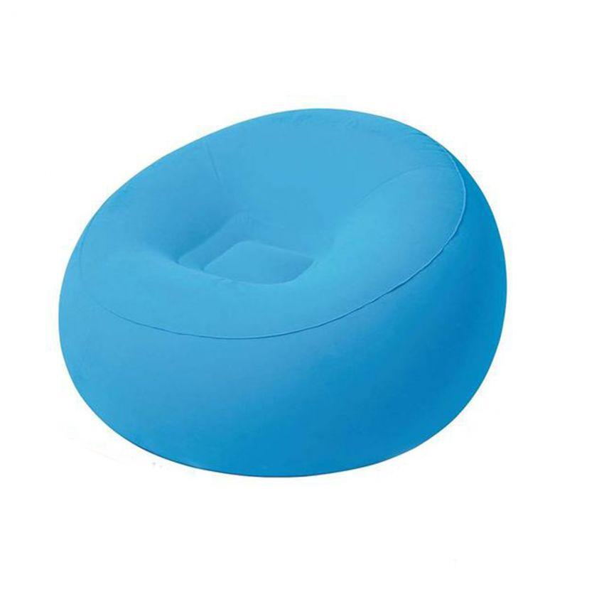 Flocked Inflatable Chair