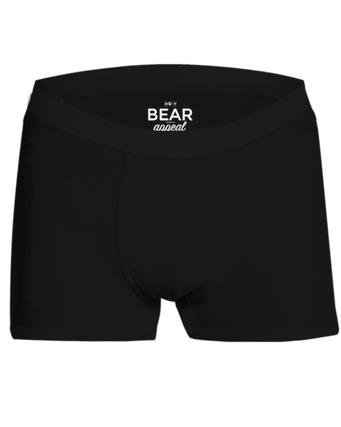 Bear Appeal Men's Black Boxer Brief