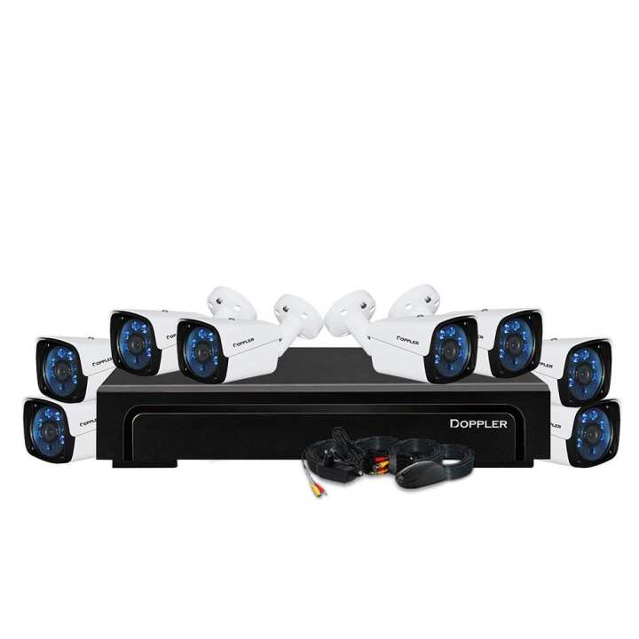 Doppler 2MP (1080P) 8 Ch DVR Package- Without Installation