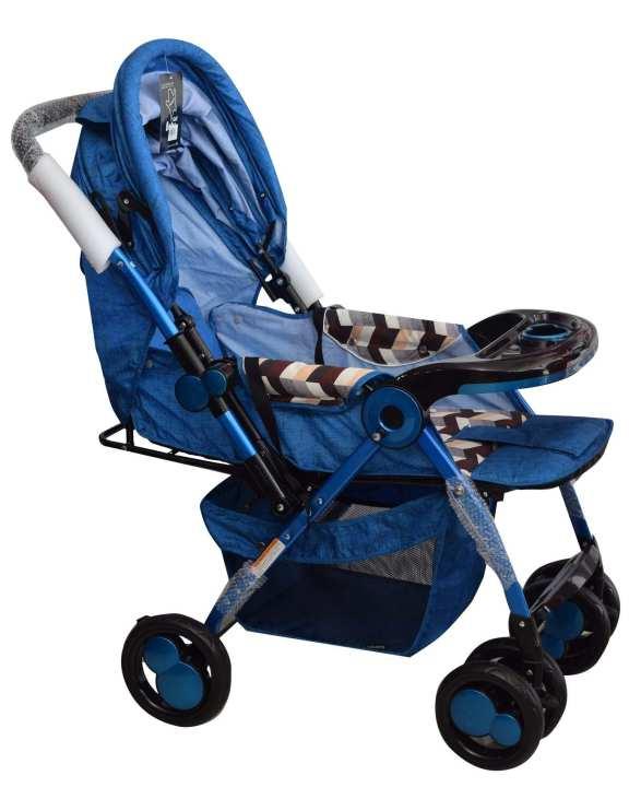 Comfort Baby Stroller - Blue