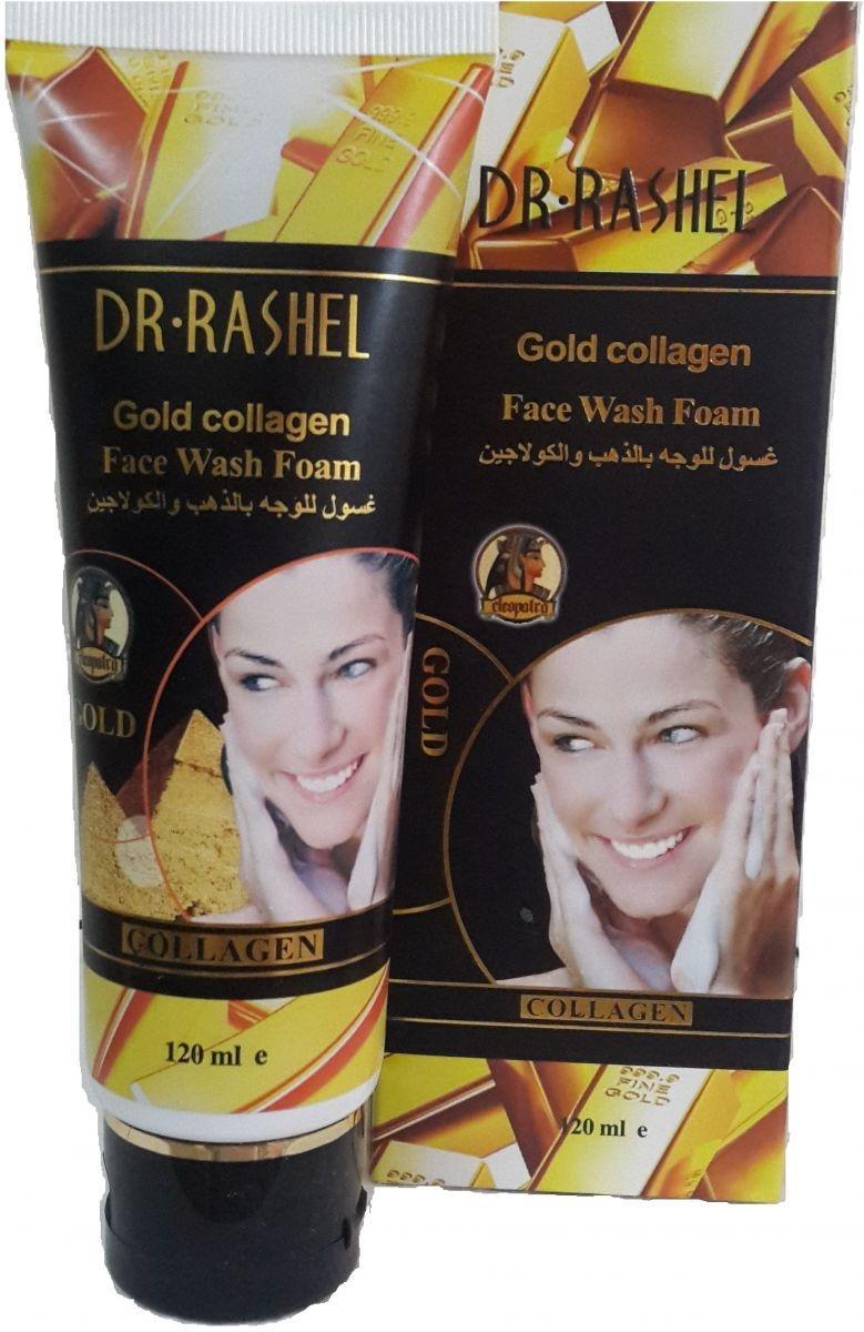 Dr Rashell Gold Collagen Face Wash Foam