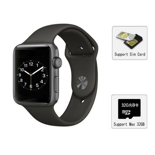 A1 Bluetooth Smart Wrist Watch GSM Phone For All Android Phones - Space Gray