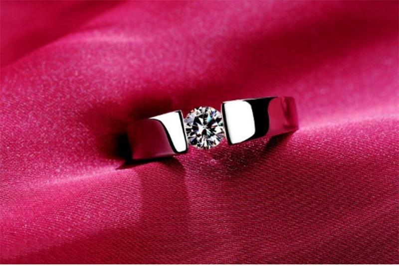 Silver Plated Wedding Ring For Women