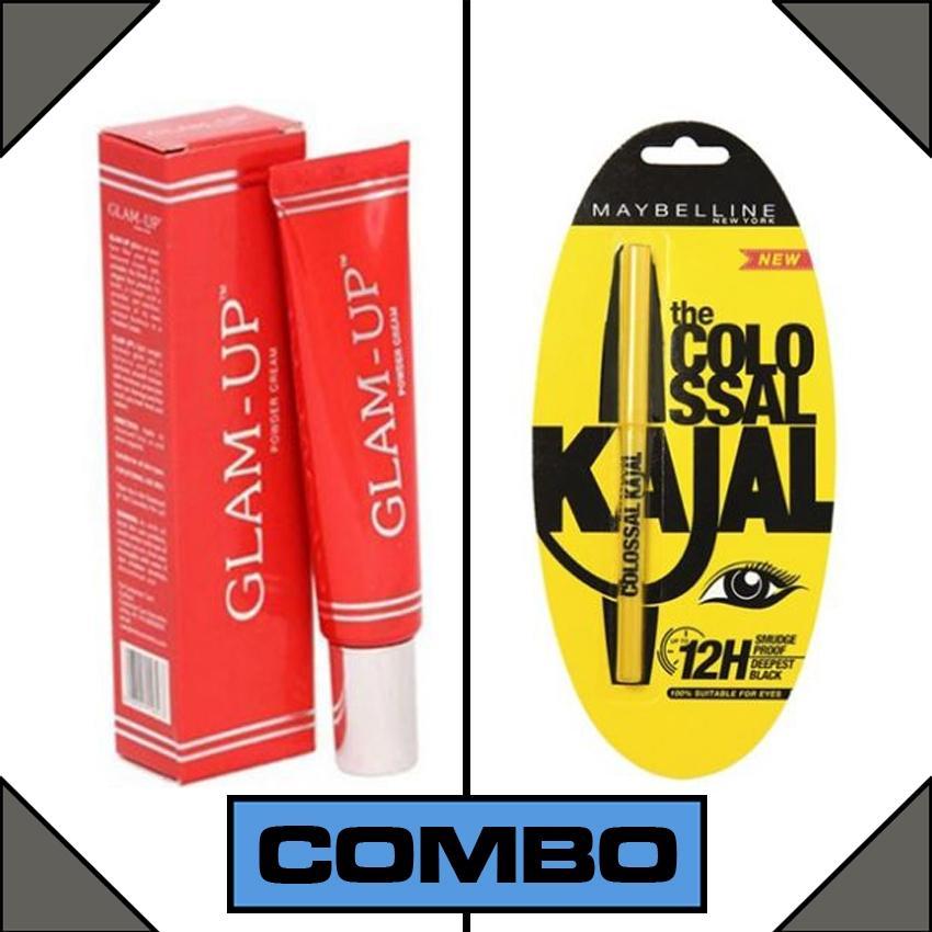 Combo Of Maybelline Kajal + Glam Up