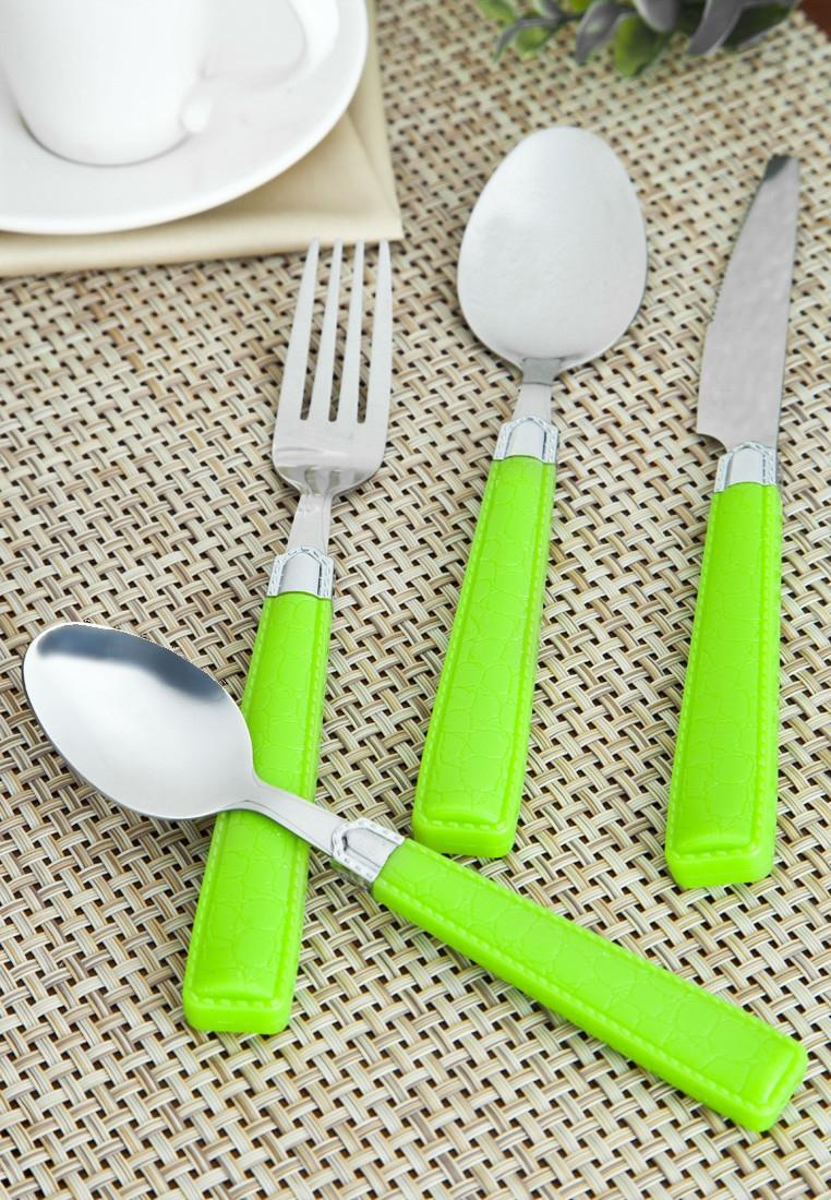 Pack of 24 Stainless Steel Cutlery Set
