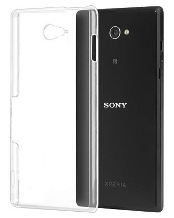 Transparent Backcover For Sony E4
