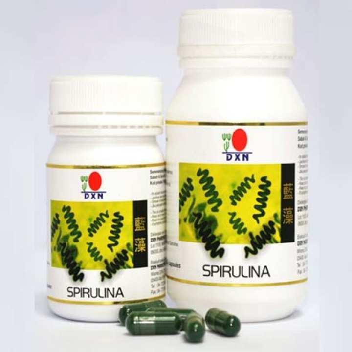 DXN Spirulina Food Supplement 90 Capsules - 350mg