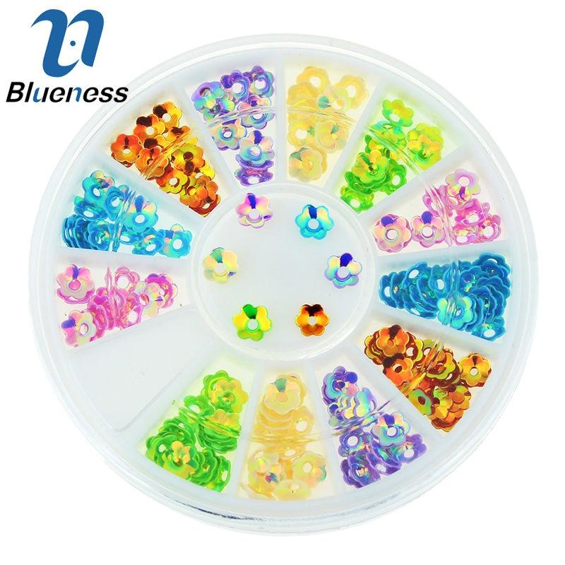 3D Nail Art Petal Manicure Decoration