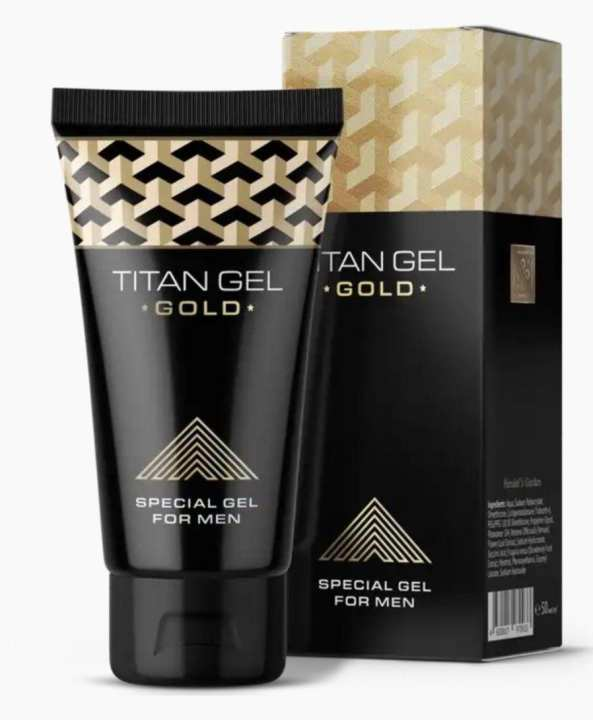 Russian Titan Gel Gold Penis-Enlargement Cream 100% Original