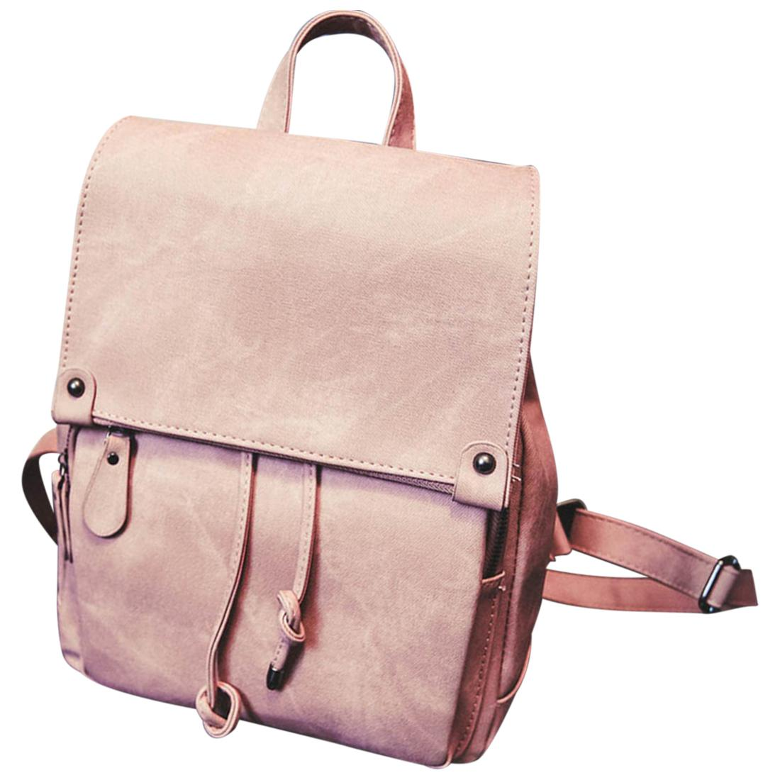 53c951252a Korean Preppy Style Backpack Casual Travel School Shoulders Bag Rucksack  Satchel - Pink