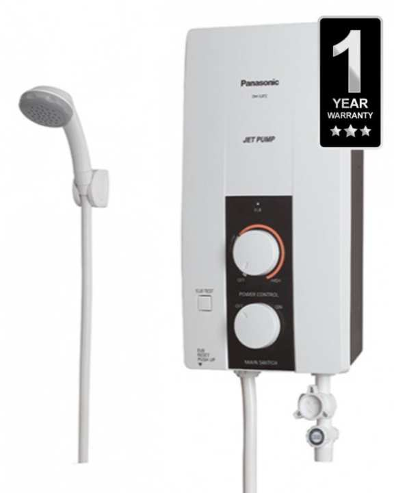 Hot Water Shower - White