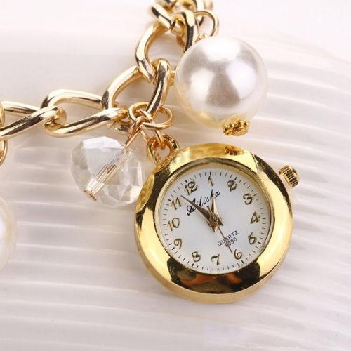 Women's Pearl Analog Watch