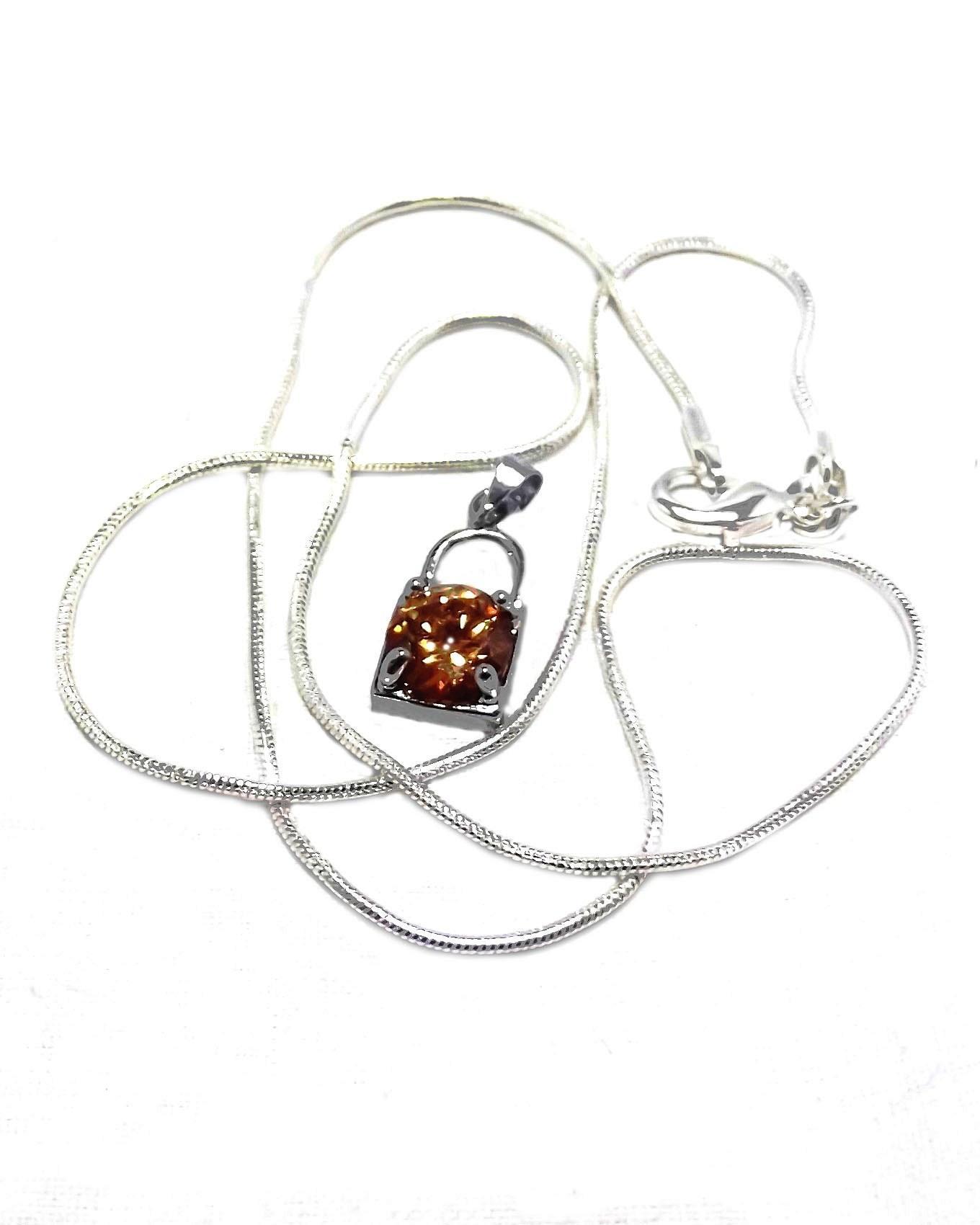 Women's Nirin Silver Pendant Necklace