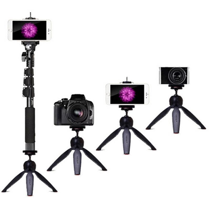 Combo Of Extendable Selfie Stick Monopod + Mini Tripod Mount
