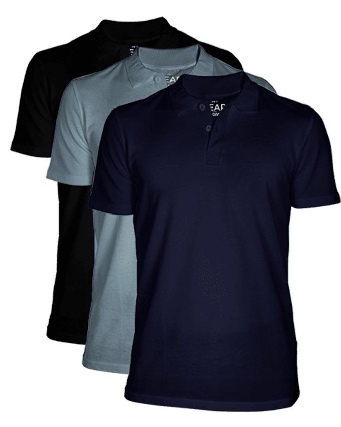 Bear Appeal Bundle of 3 Polo T-Shirt..