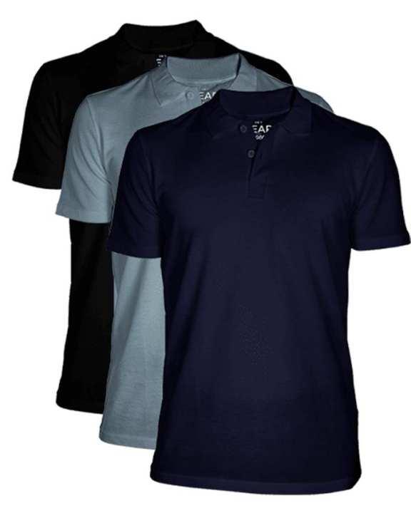 Bundle Of 3 Men's Polo T-Shirt