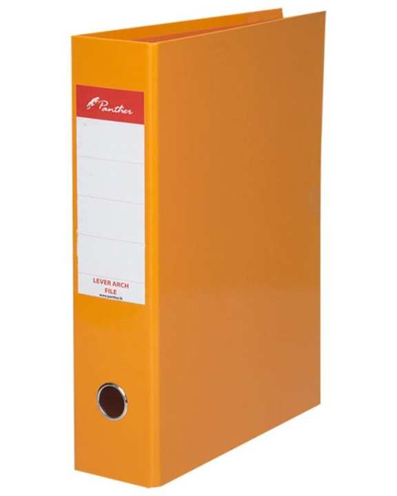 Box File 75mm  Laminated F4 - Orange