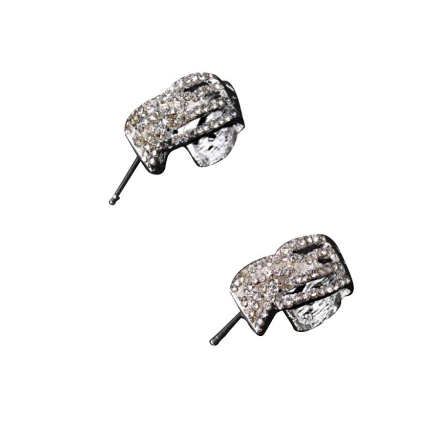 Rhinestone Stud Earrings for Women