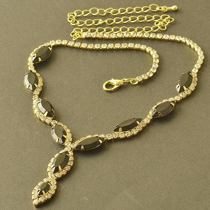Women's 18K Swarovski Crystal Jewelry Set