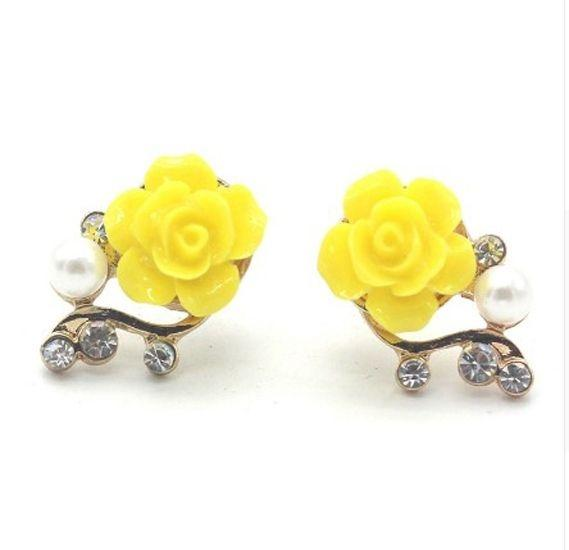 Women's Gold Plated Earings