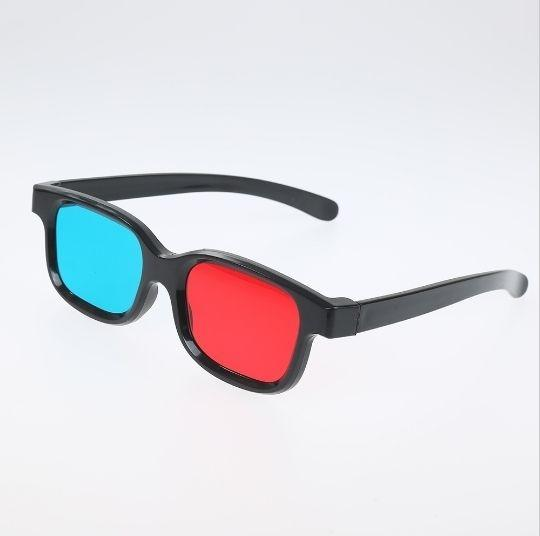 Red And Blue 3D Glasses