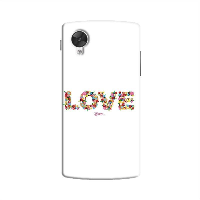 FlowerLove Hard Case For Nexus5