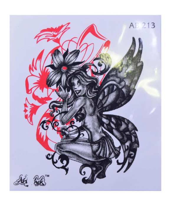 Body Tattoo Stickers  - Black