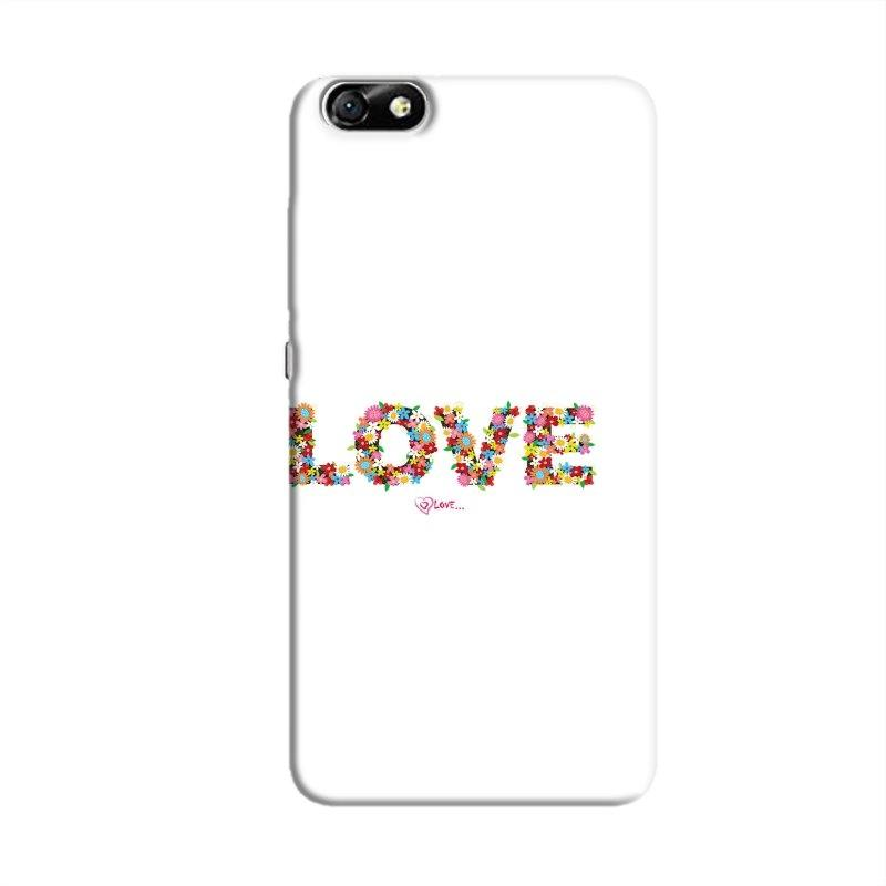 FlowerLove Hard Case For Huawei Honor 4X