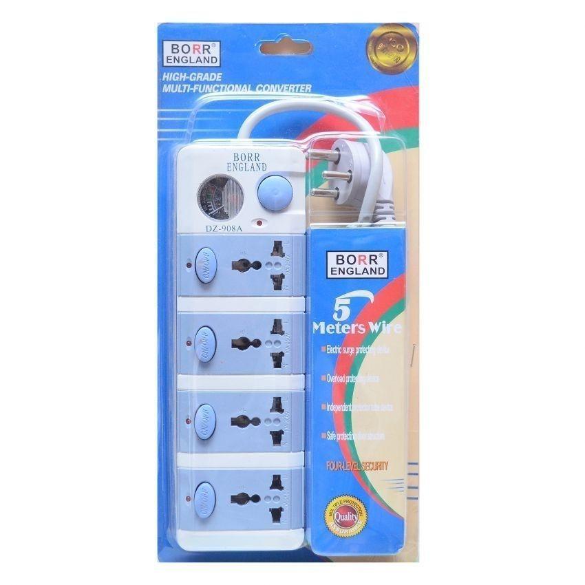 Borr England 4 Socket Multi Functional Converter