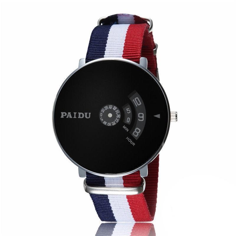 Men's Black Wrist Watch