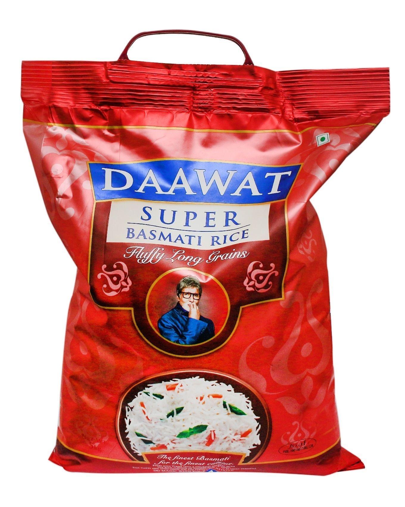 Rozaana Basmati Rice 5kg