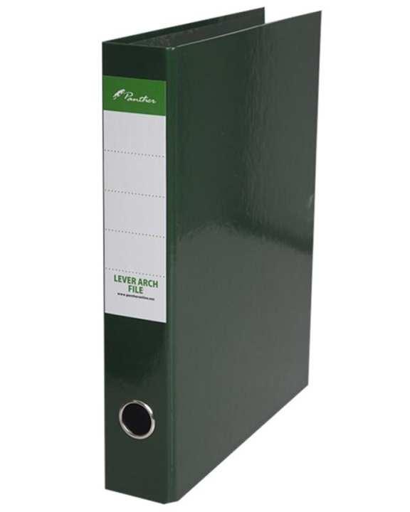 Box Files 50mm  Laminated F4 - Dark Green