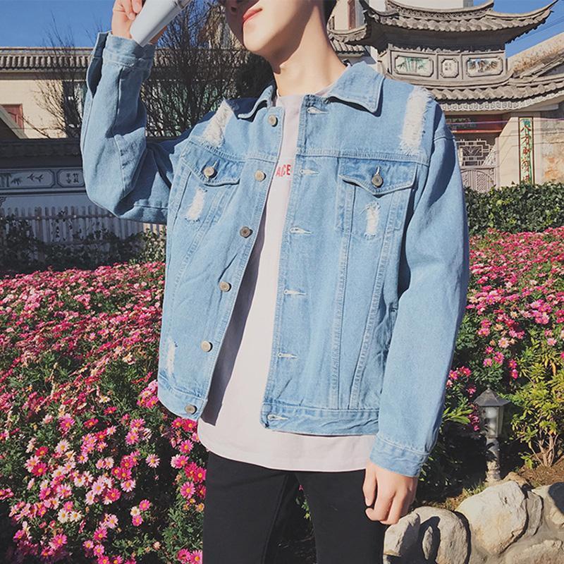 Bluelife Ripped Distressed Denim Jacket