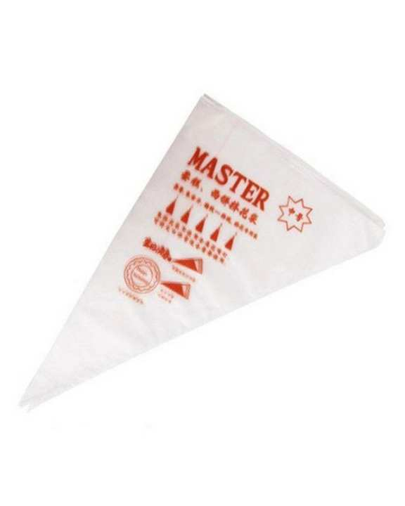 MASTER Disposable Icing Piping Bags - 25 Pcs - White