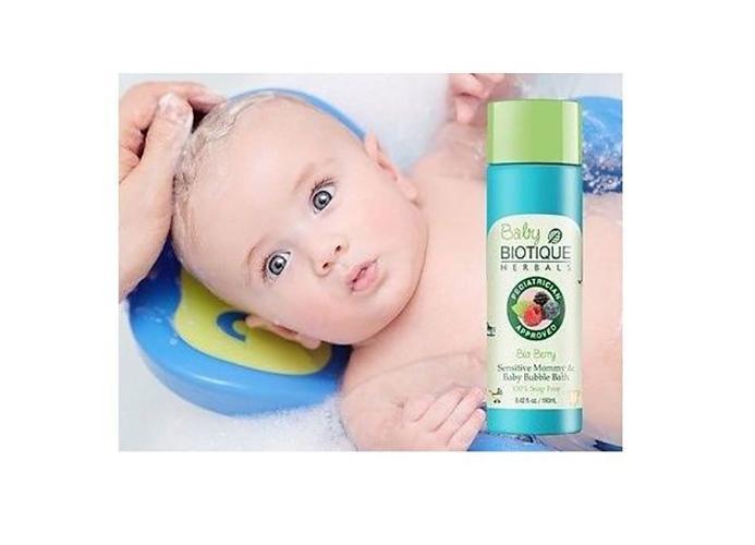 Bio Berry Baby Bubble Bath