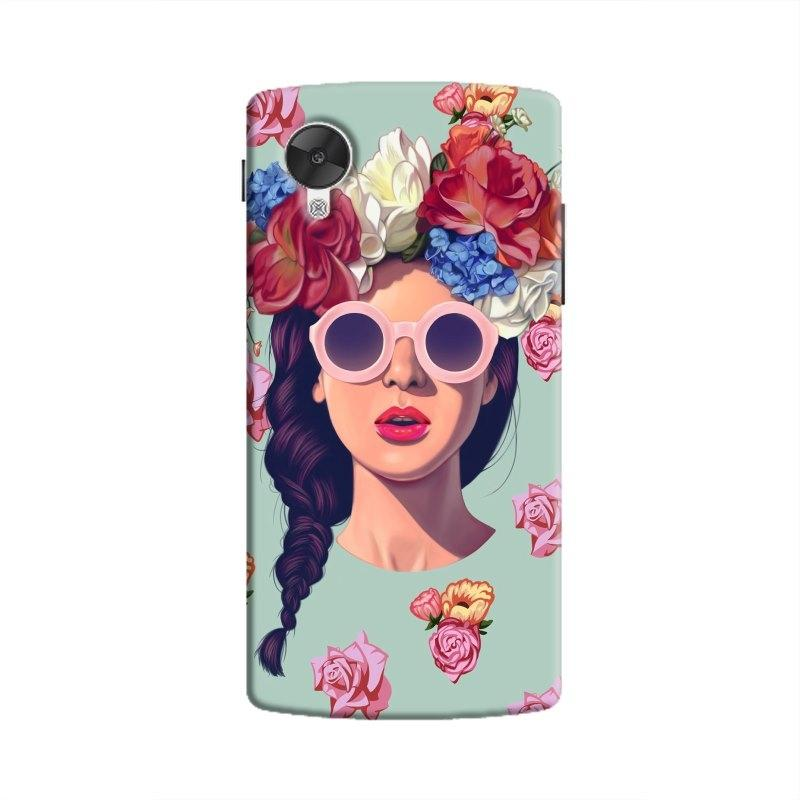 FlowerHead Hard Case For Nexus5