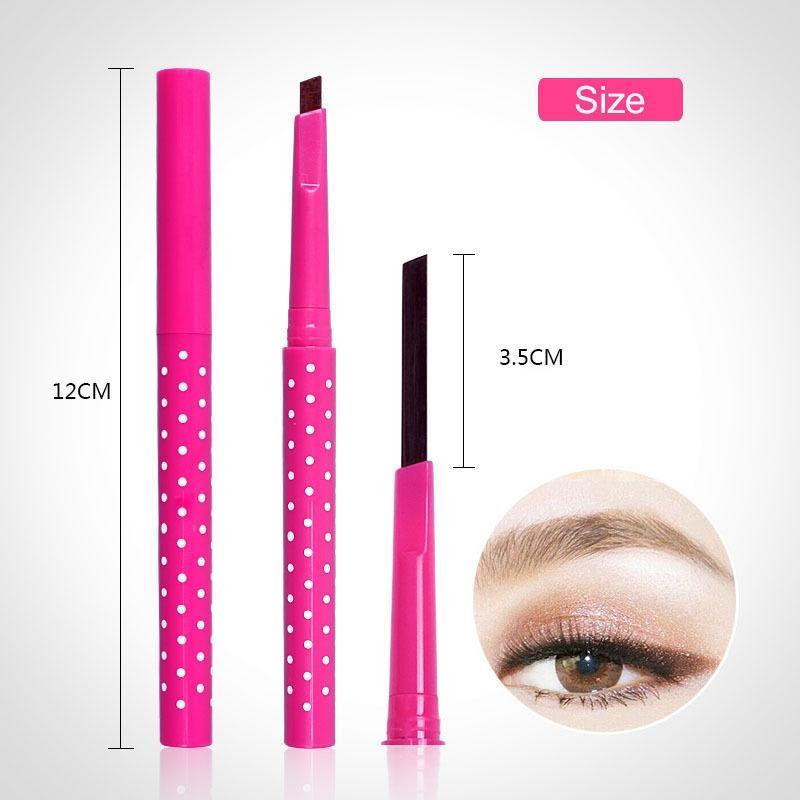 Waterproof Longlasting Eyebrow Pencil Liner Enhancer
