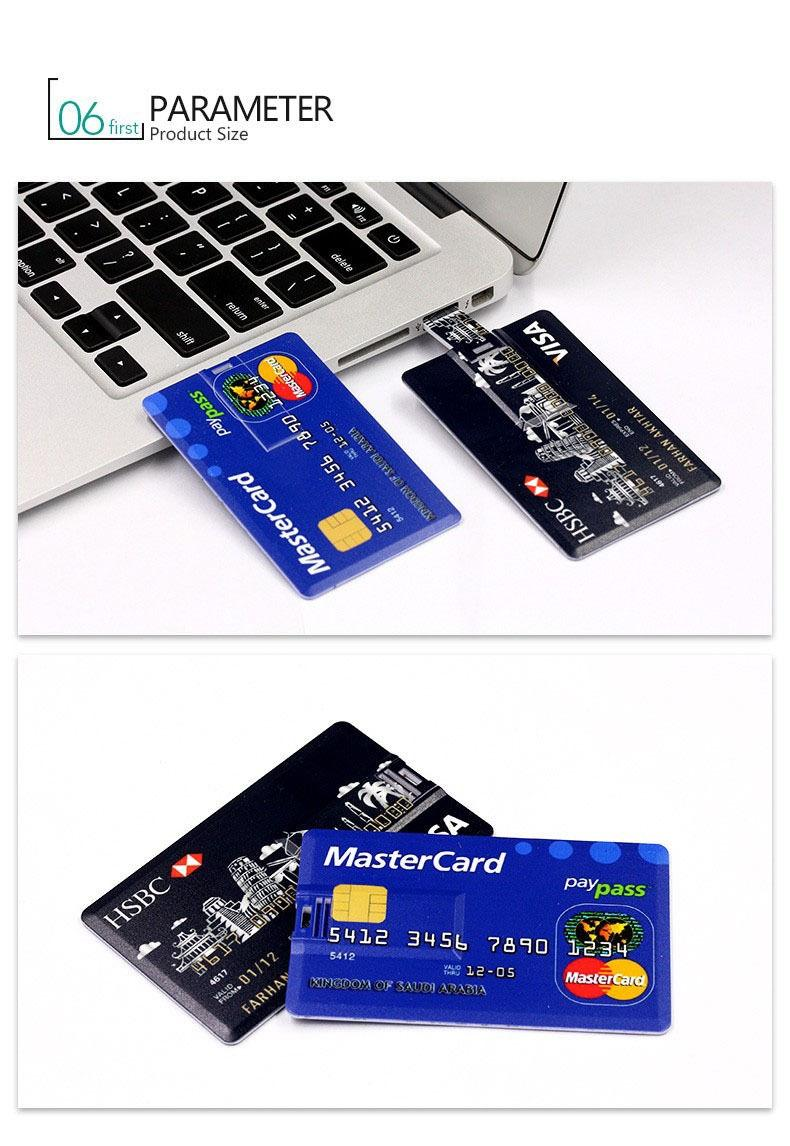 Credit Card 8GB USB Flash Drive
