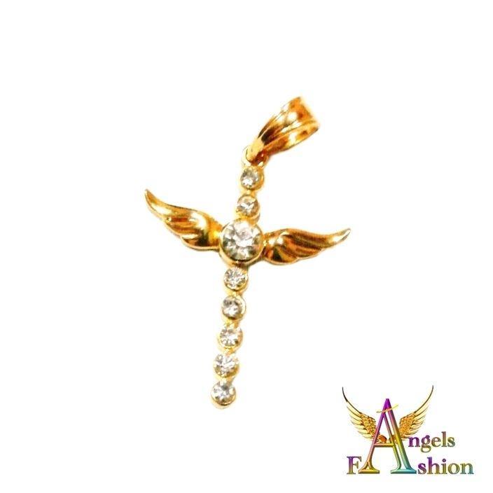 Women's Gold Plated Zirconia Pendant
