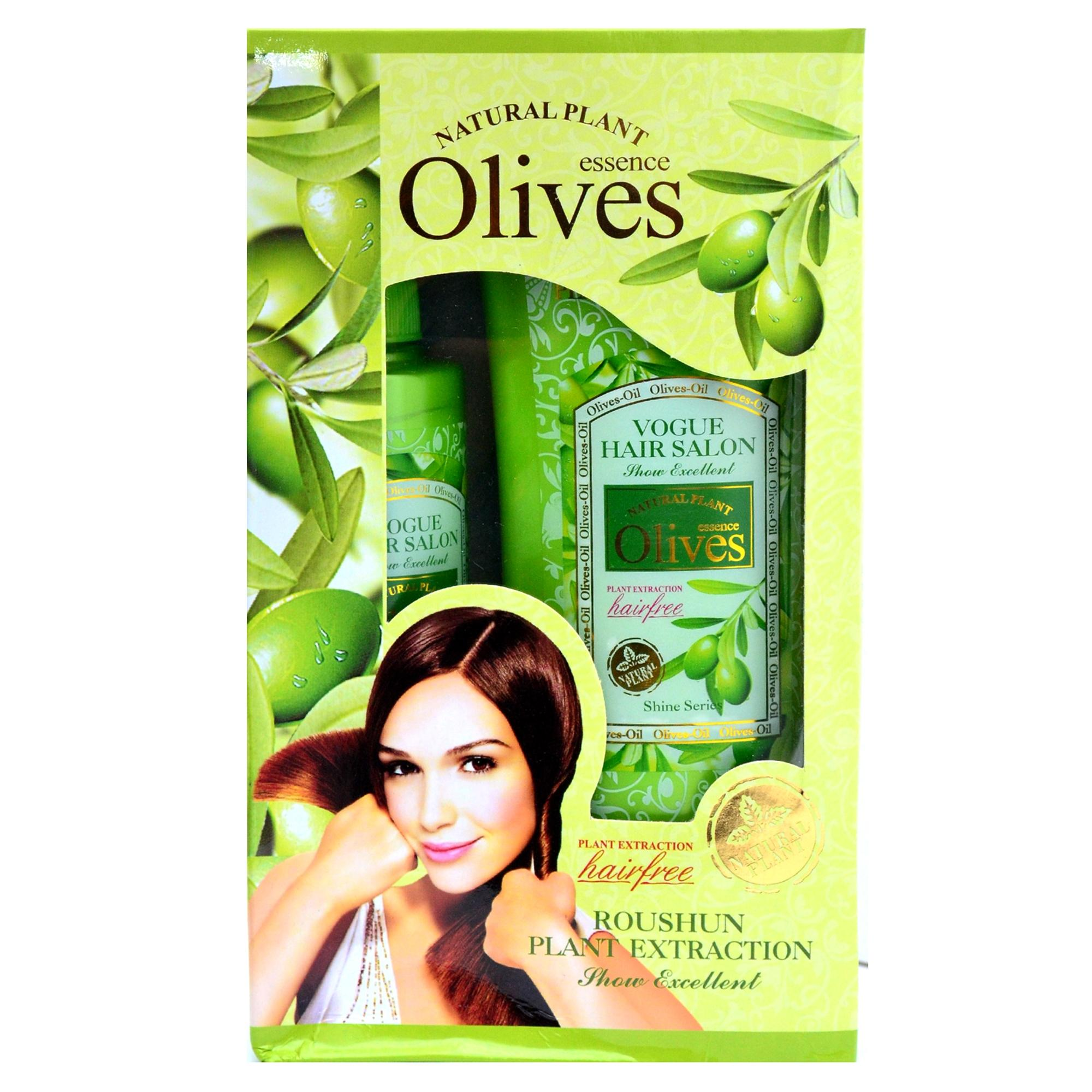 Women's Olive Essence Shampoo and Conditioner