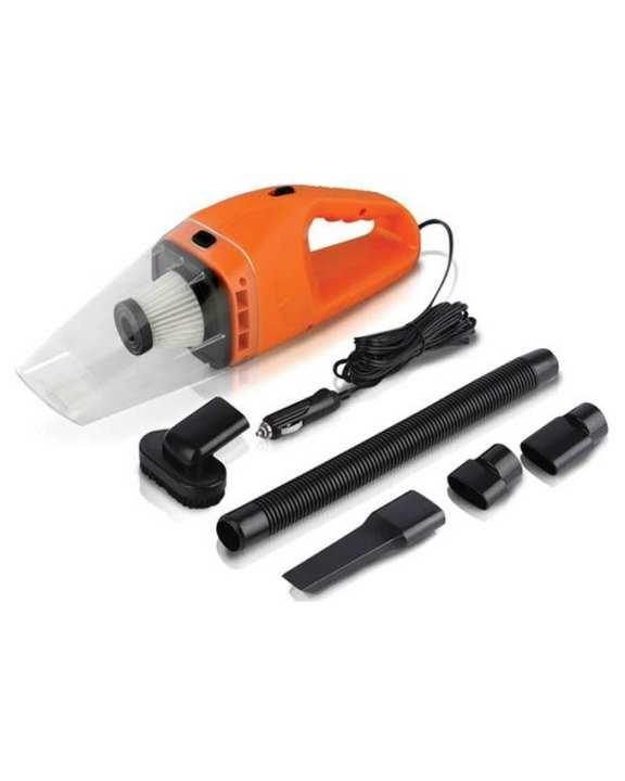 Portable Car Vacuum Cleaner - Orange