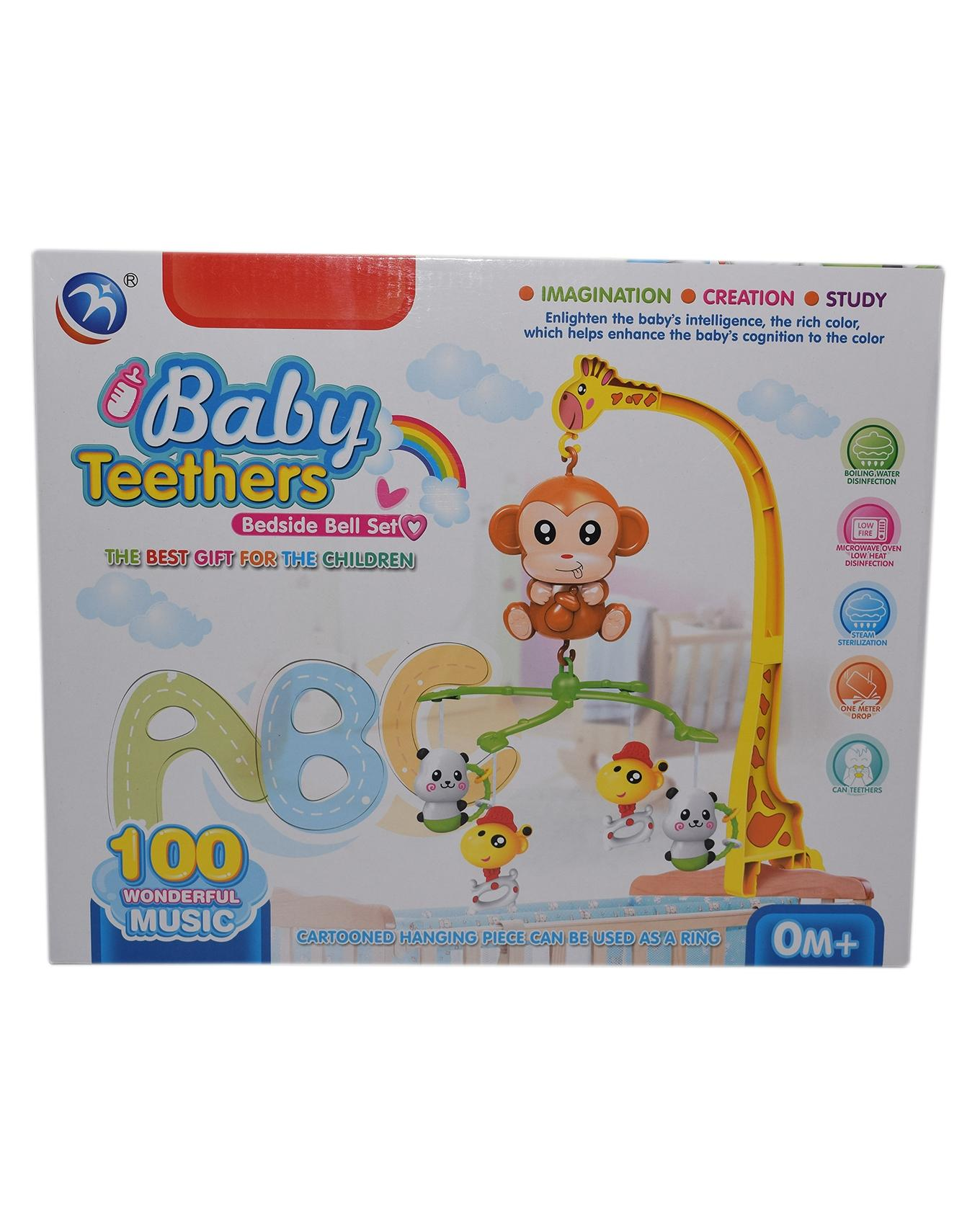 Baby Bedside Bell Set - Multi Color