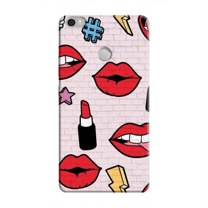 LipstickStickersWall Hard Case For Xiaomi MiMax