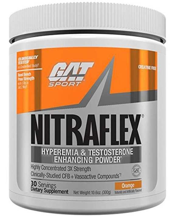 Nitraflex + Creatine - 420g/30 Servings - Orange