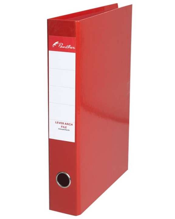 Box Files 50mm  Laminated F4 - Red