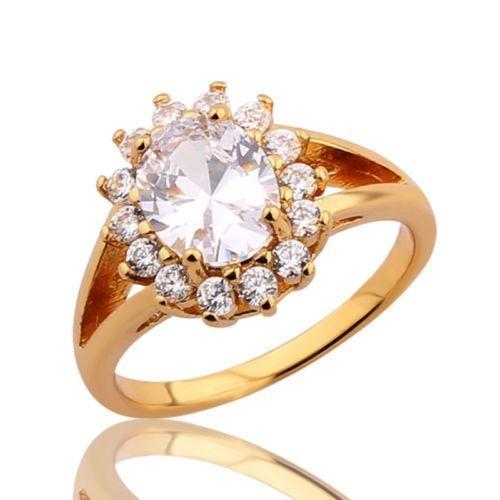 Women's Yellow Gold Plated Ring